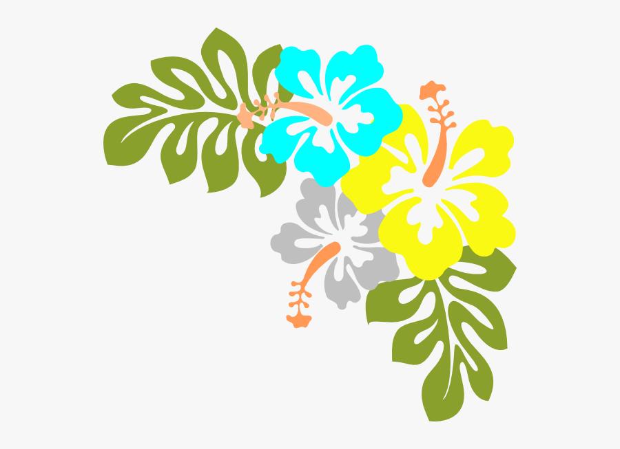 Transparent Hawaii Png - Hawaiian Flowers Transparent Background, Transparent Clipart
