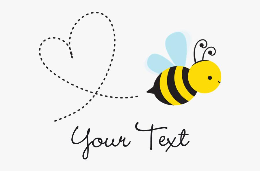 Transparent Background Cute Bee Clipart, Transparent Clipart