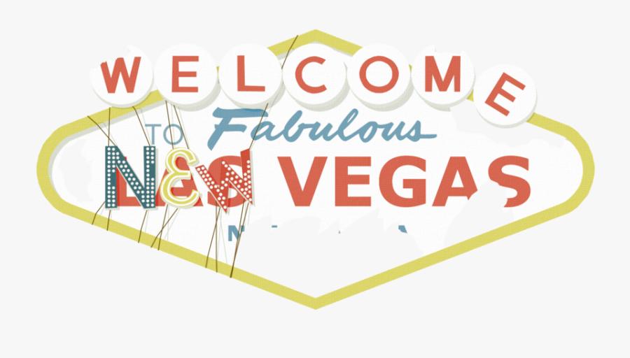 Transparent Vegas Sign Png - Welcome To Las Vegas Sign, Transparent Clipart