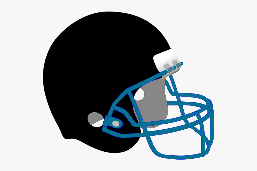 Football Clip Art At - Football Helmet Transparent Background, Transparent Clipart