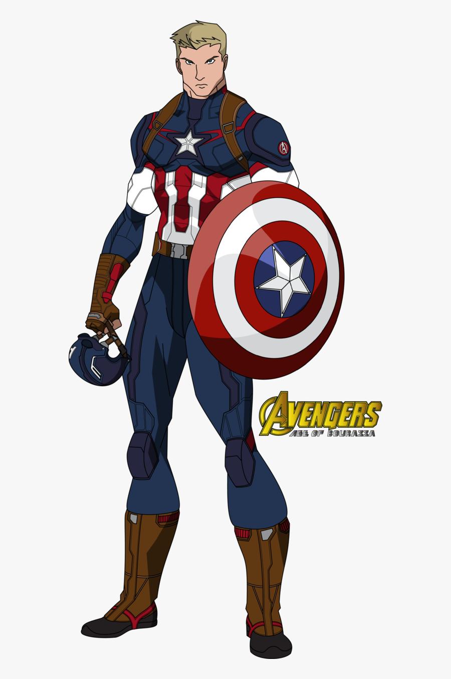 Avengers Clipart Captain America - Avengers Assemble Captain America New Suit, Transparent Clipart