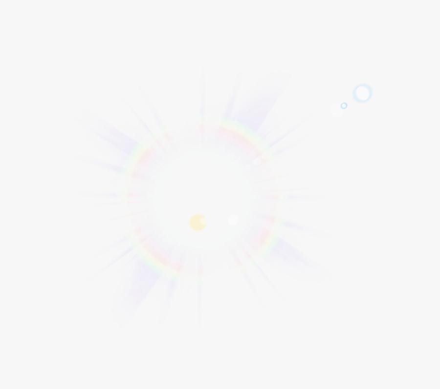 Lens Flare Clip Art - Sun Flare Effect Transparent, Transparent Clipart