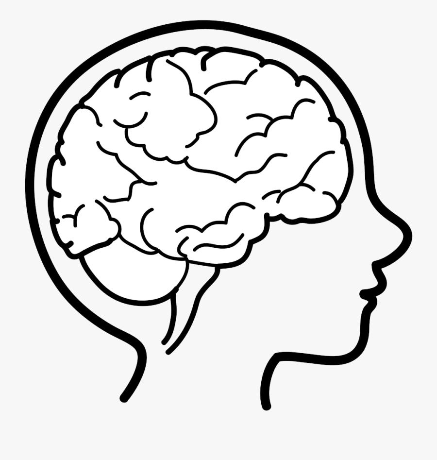 Brain Cute Clipart Free Best Transparent Png - Kids Brain Drawing, Transparent Clipart