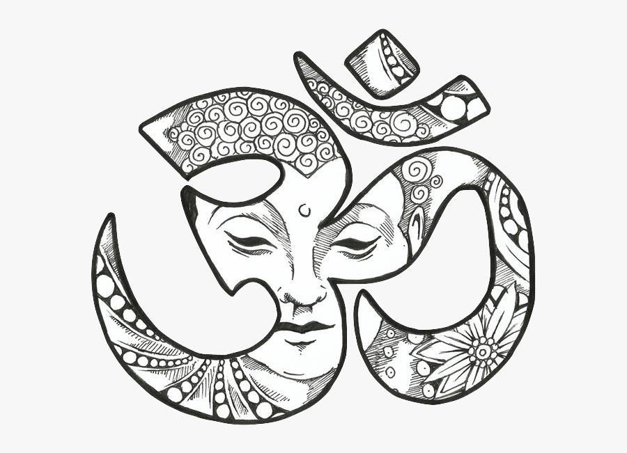 Om Buddhism Buddhist - Om Buddha, Transparent Clipart