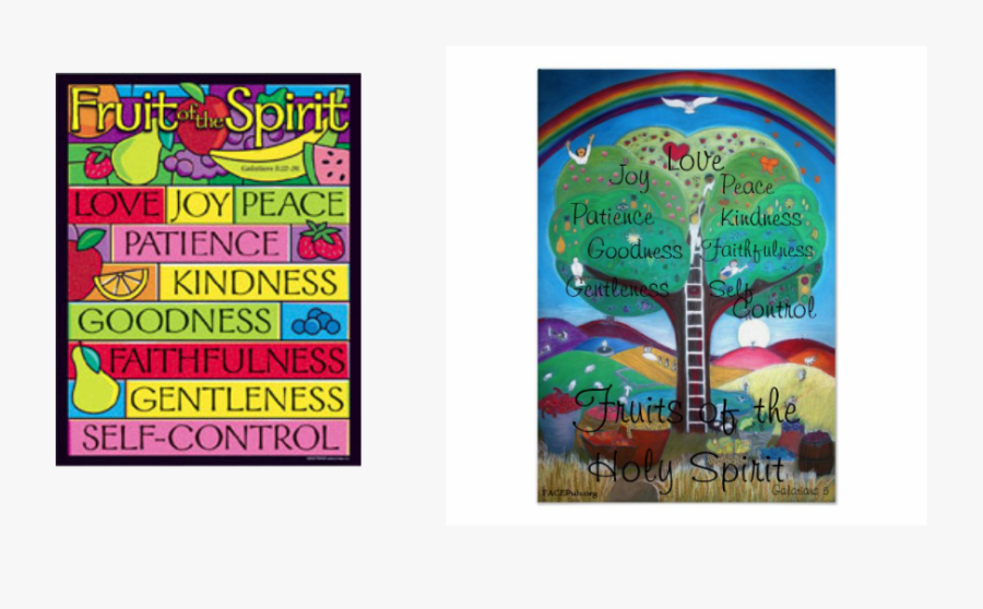 Picture - Fruits Of The Holy Spirit Poster, Transparent Clipart
