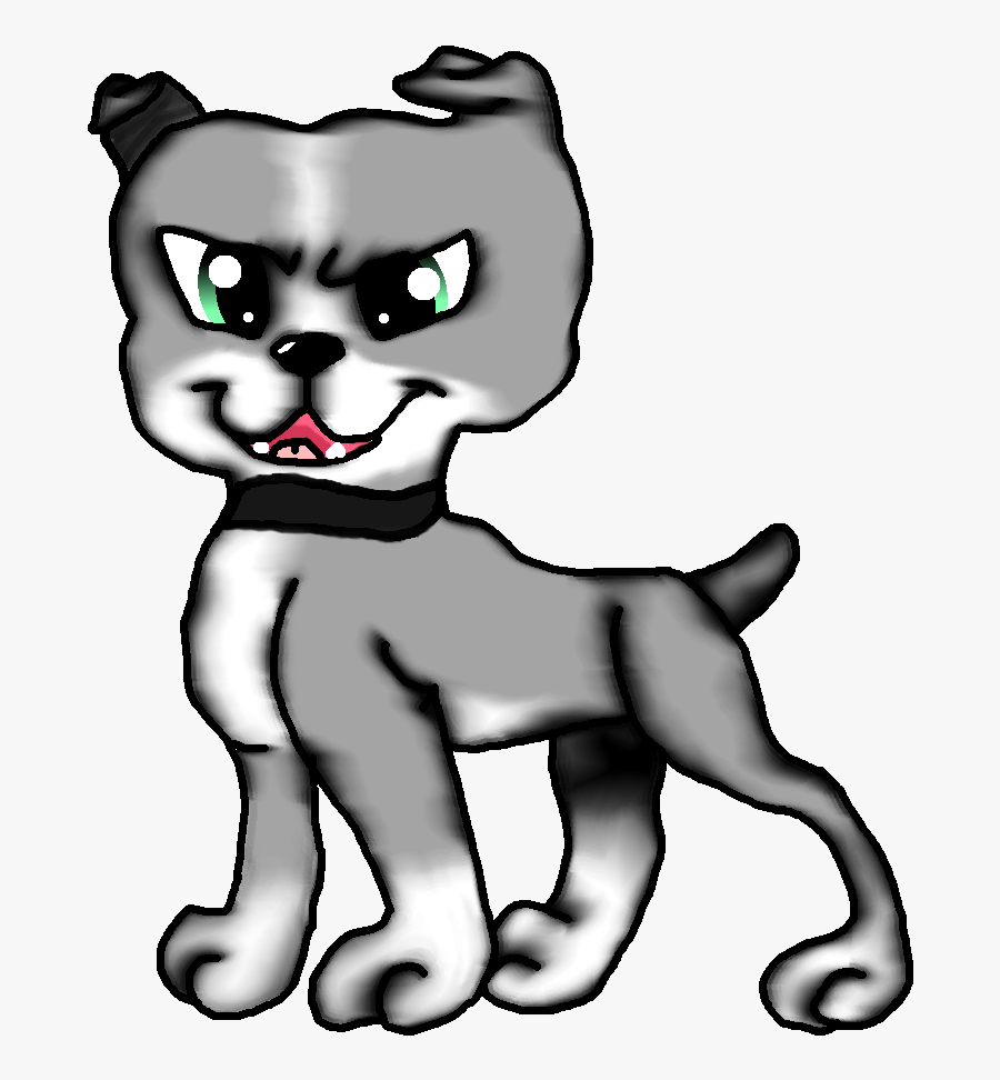 Drawing Bulldogs Face - Cartoon, Transparent Clipart