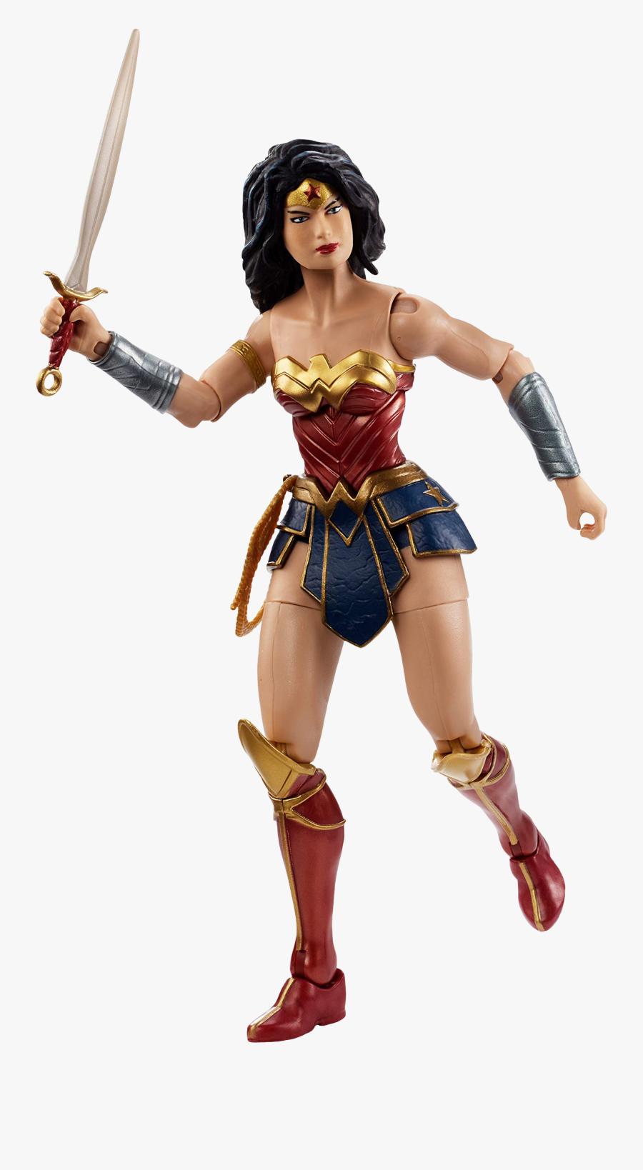 Wonder Woman Multiverse 6 Action Figure Dc Comics - Dc Multiverse Wonder Woman Action Figure, Transparent Clipart