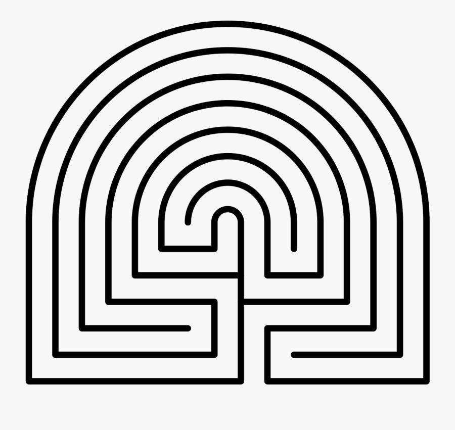 Printable Finger Labyrinth For Kids, Transparent Clipart