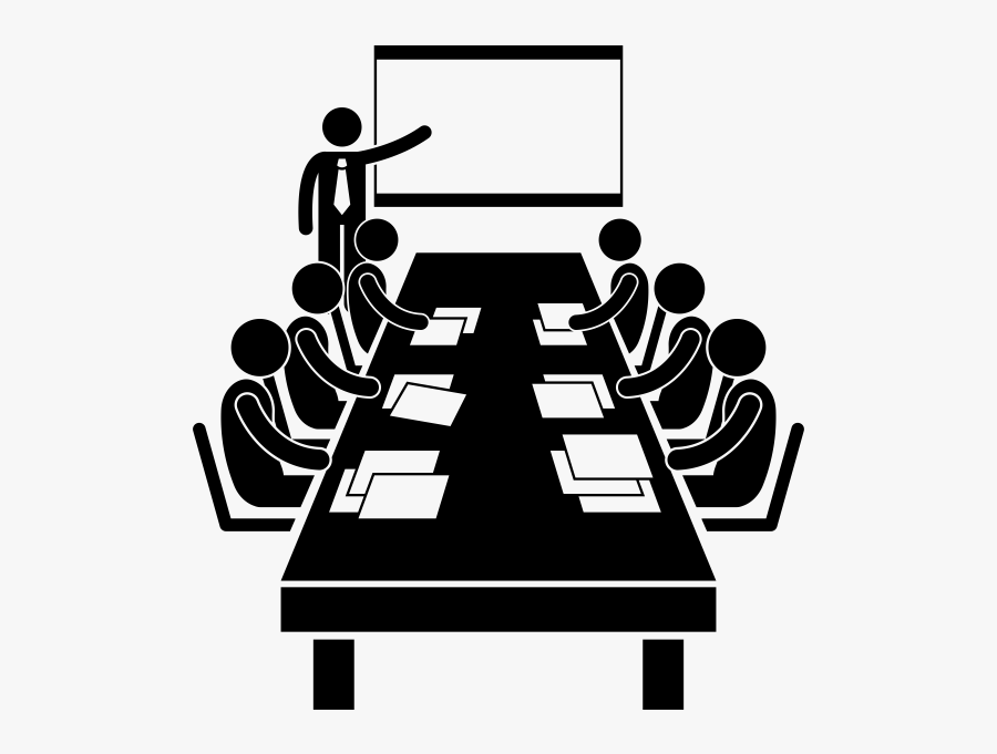 Meeting Room Icon Png, Transparent Clipart