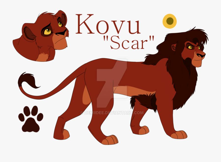 The Lion King Scar Simba Mufasa - Scar Lion King Fan Art, Transparent Clipart