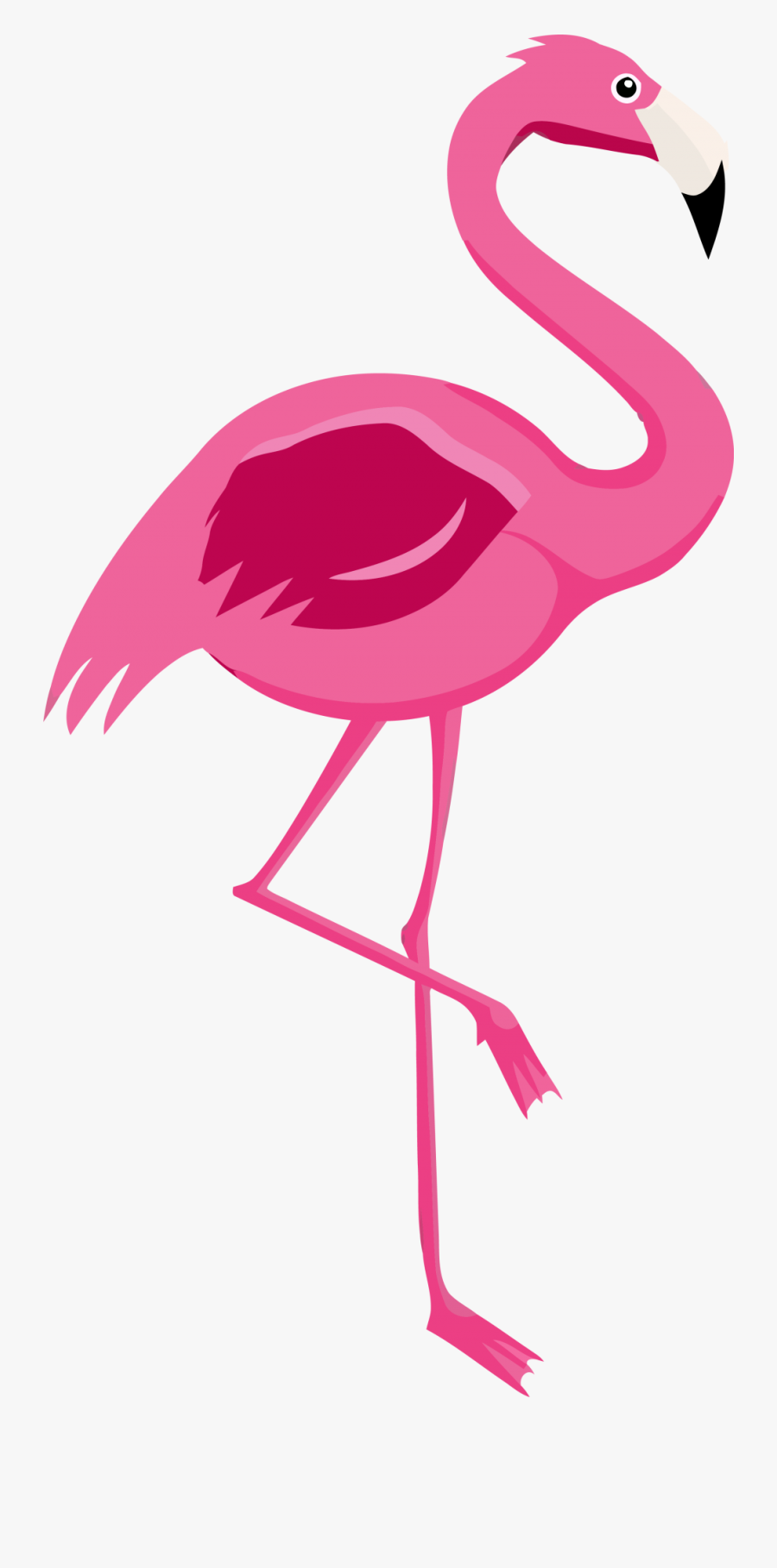 Cartoon Printable Flamingo , Free Transparent Clipart ... - photo#12