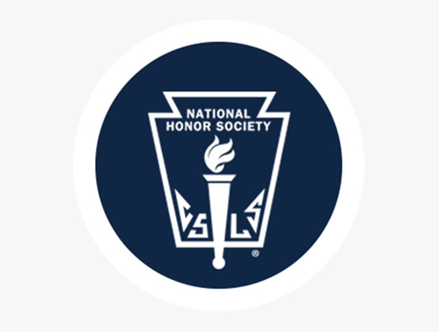 National Honor Society Logo White - Logo National Honor Society, Transparent Clipart
