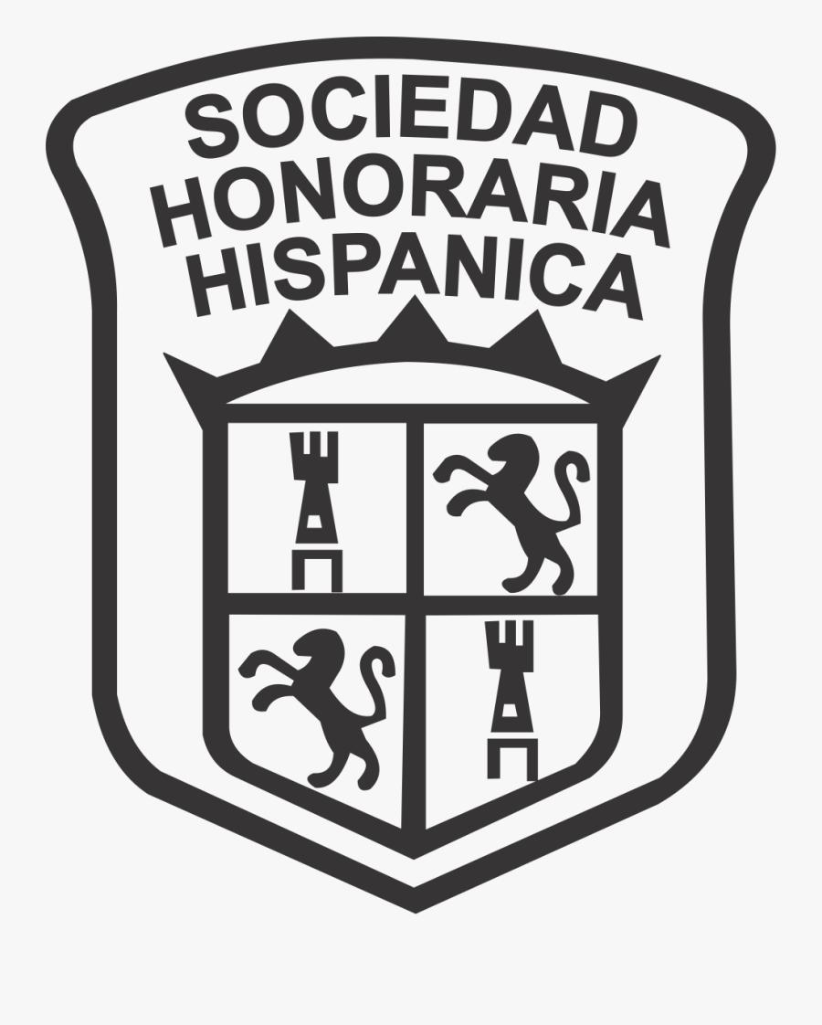 Spanish National Honor Society - Sociedad Honoraria Hispanica Logo Transparent, Transparent Clipart