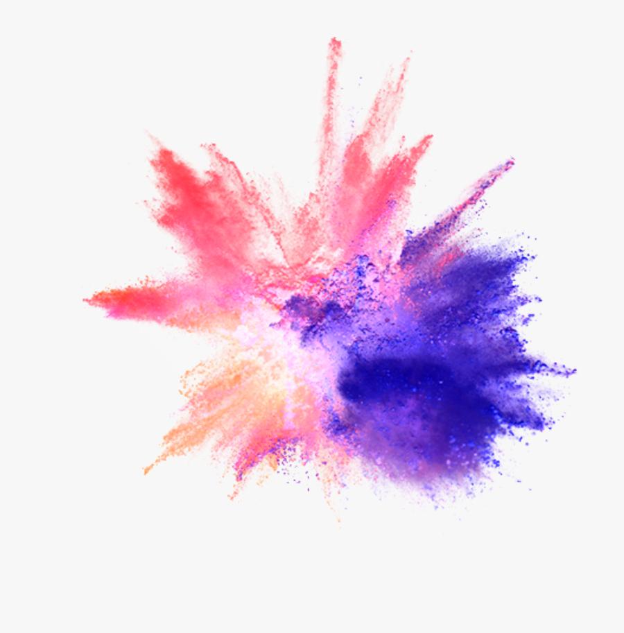 Explosion Png Color - Color Powder Explosion Png, Transparent Clipart