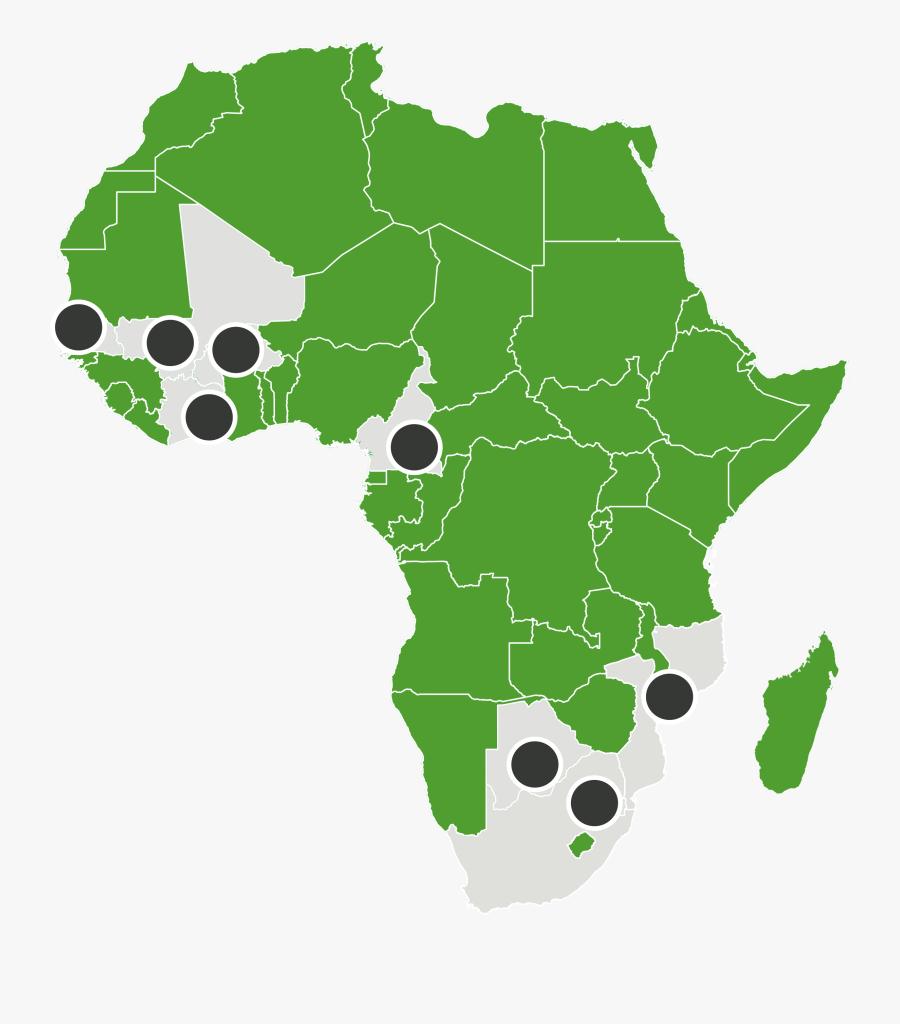 Union Africaine Pays Membres, Transparent Clipart