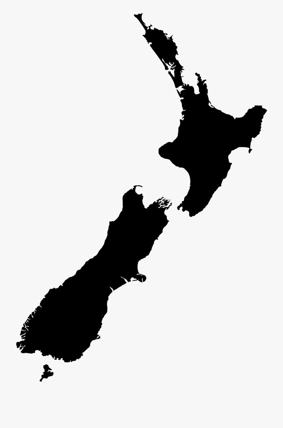 New Zealand Gdp Map, Transparent Clipart