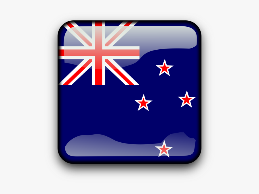 Flag,rectangle,new Zealand - He National Flag Of New Zealand, Transparent Clipart