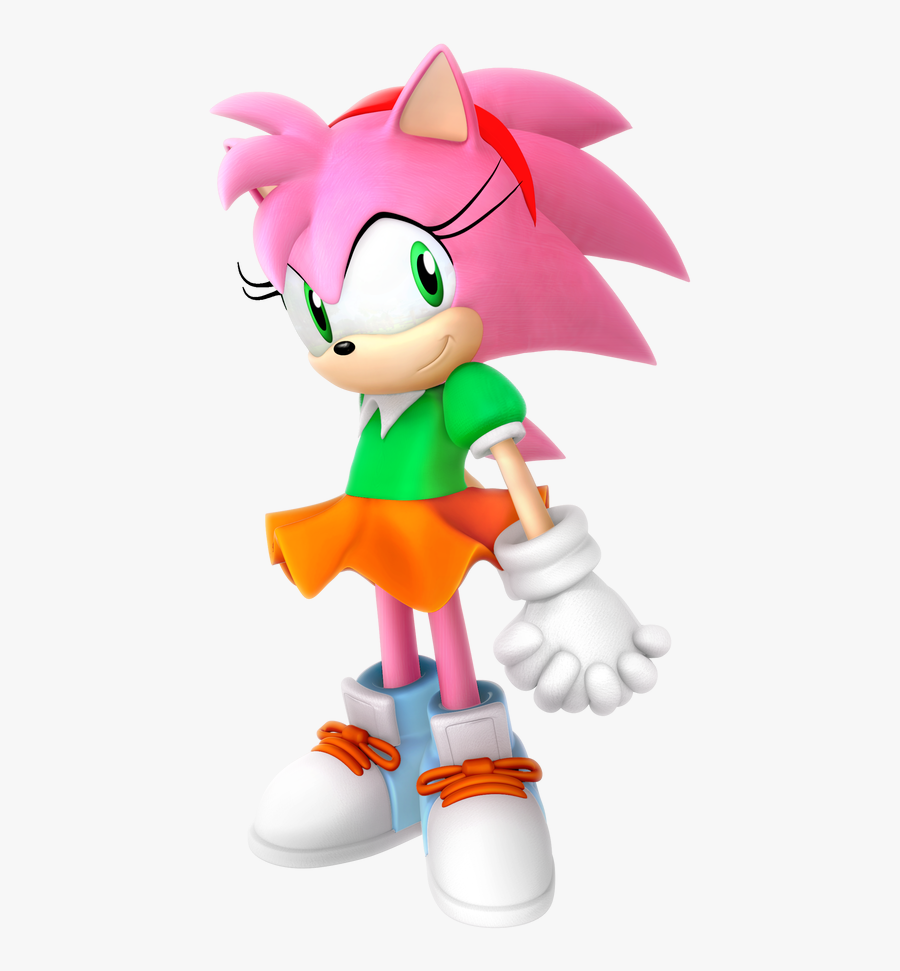 Classic Outfit Render Sonic The Hedgehog Classic Amy Free Transparent Clipart Clipartkey