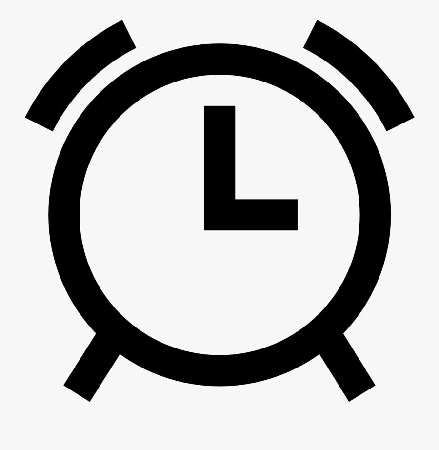 Transparent Clock Vector Png - Windows 10 Alarm Clock Icon, Transparent Clipart