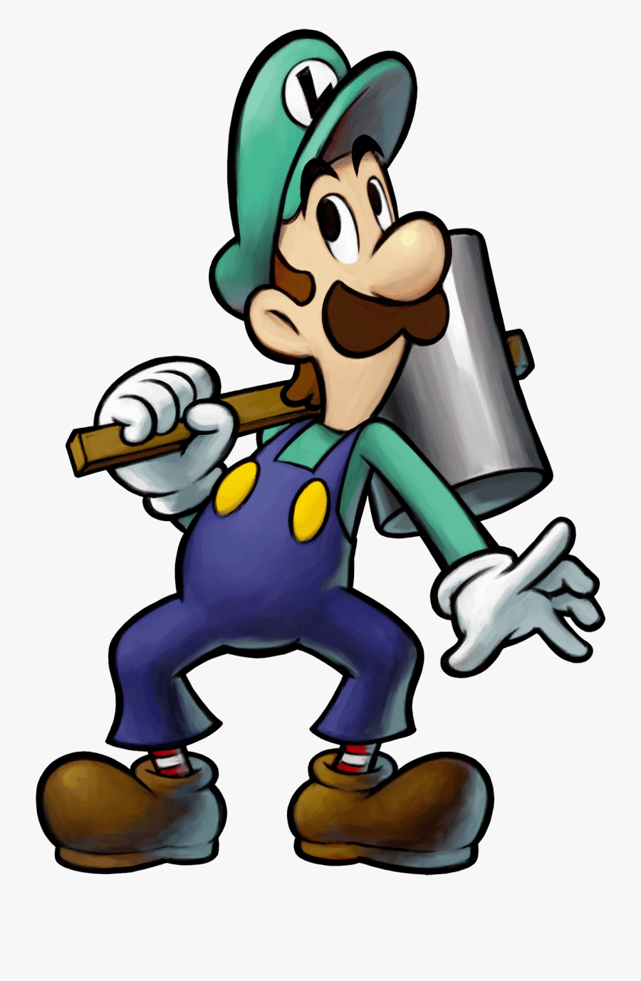 Super Mario Bros - Mario & Luigi Art, Transparent Clipart