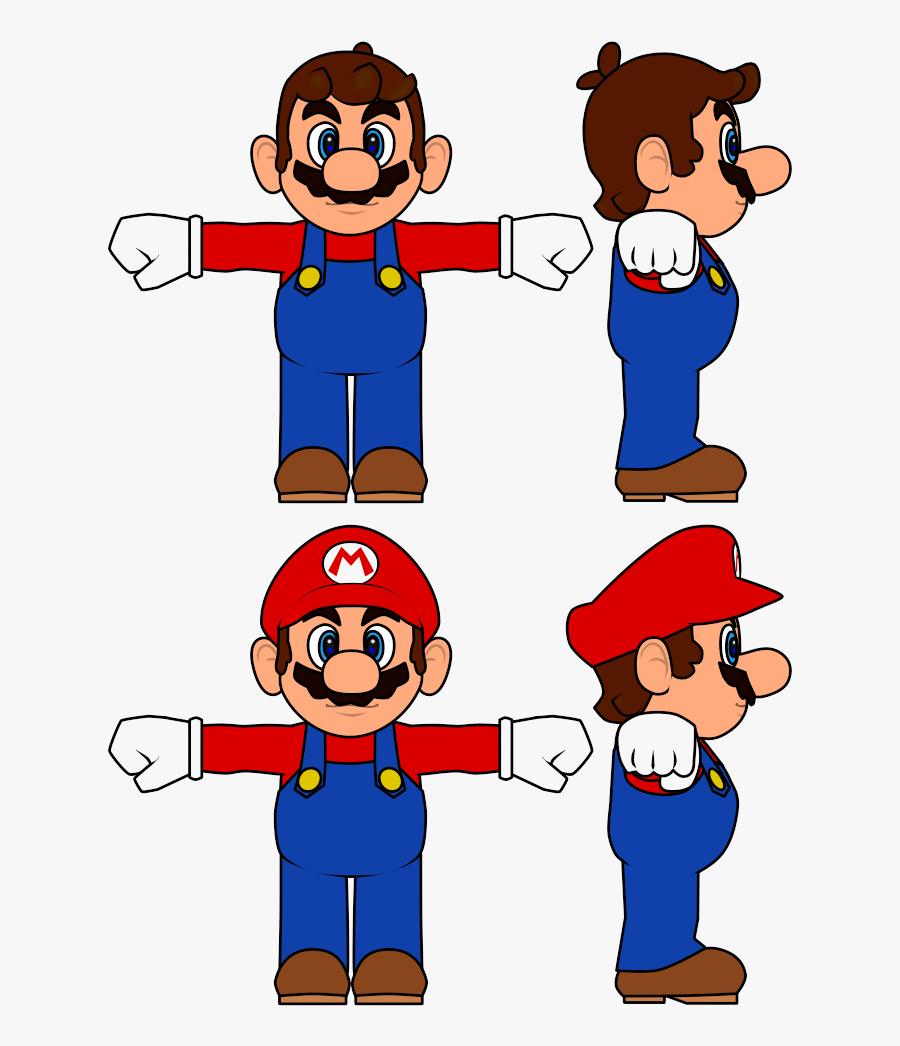 Mario Bros Concept Art, Transparent Clipart