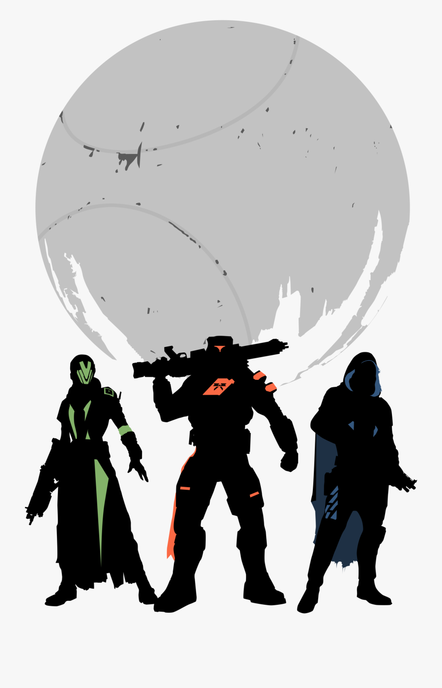 Destiny Vector Clip Art Free - Destiny 2 Transparent Background, Transparent Clipart