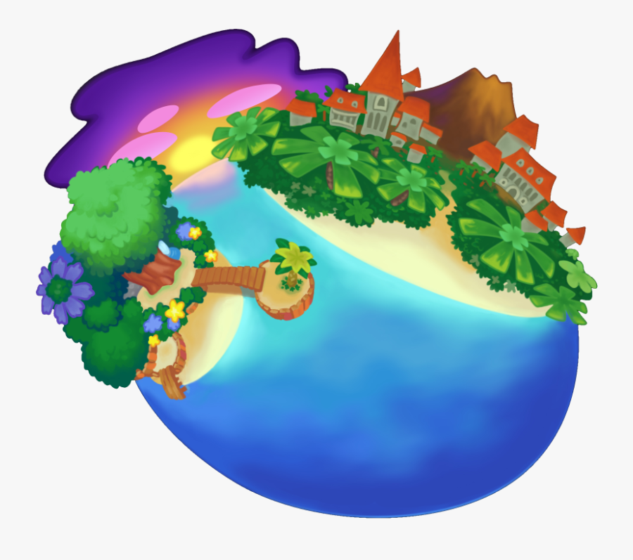 Welcome To The Wiki - Destiny Islands Mainland, Transparent Clipart
