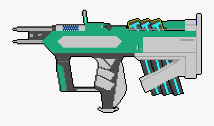 Pixel Destiny 2 Gun, Transparent Clipart