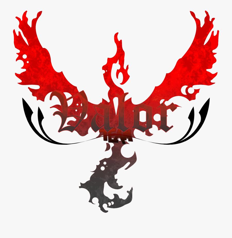 Pokemon Go Red Team, Transparent Clipart