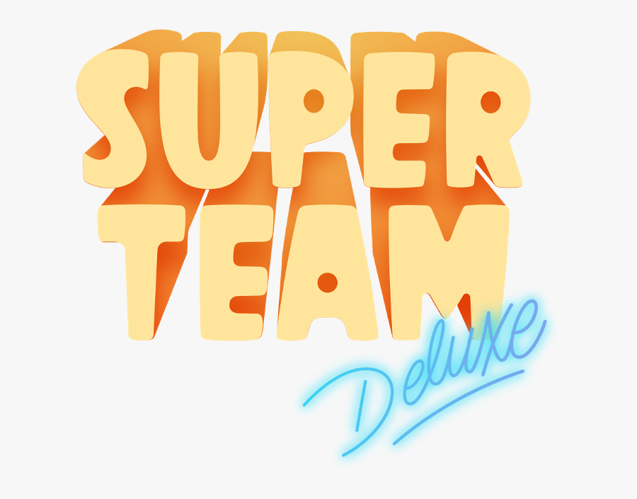 Super Team, Transparent Clipart