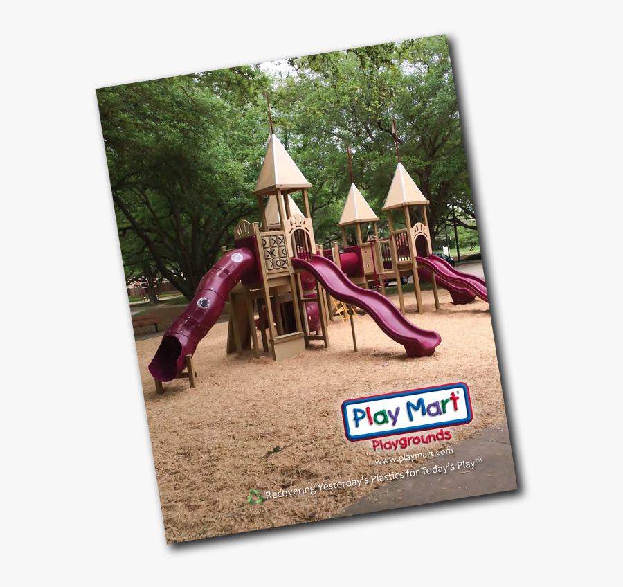 Play Mart Catalog Green Playgrounds - Playground Slide, Transparent Clipart