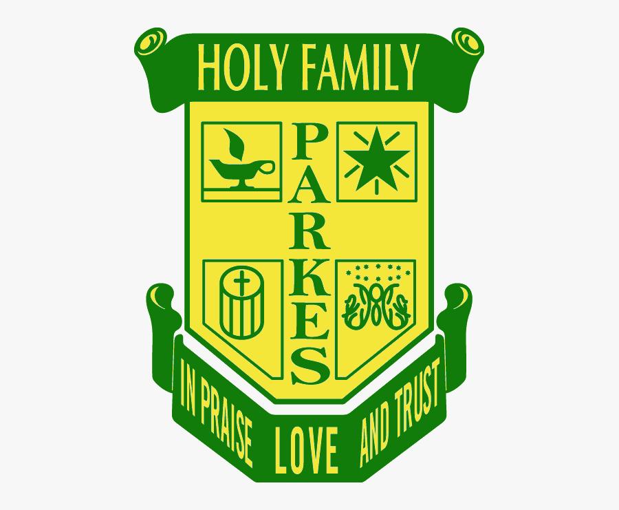 School Logo - Holy Family School Parkes, Transparent Clipart