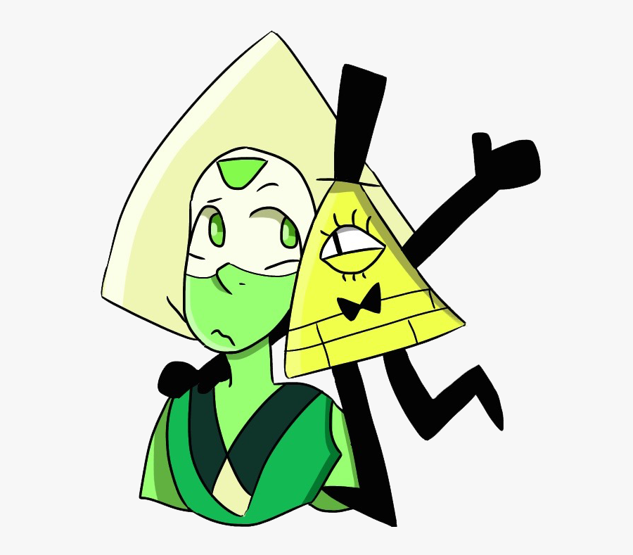Green Yellow Clip Art Leaf Fictional Character - Peridot Steven Universe Characters, Transparent Clipart