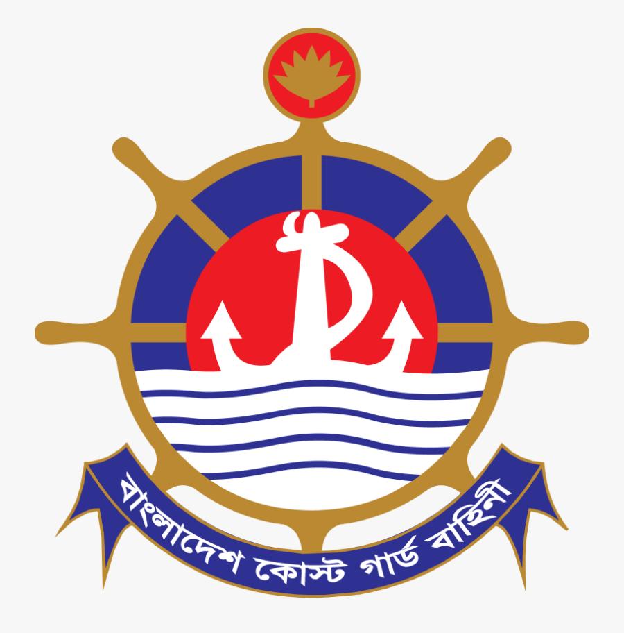 Bangladesh Coast Guard Logo, Transparent Clipart