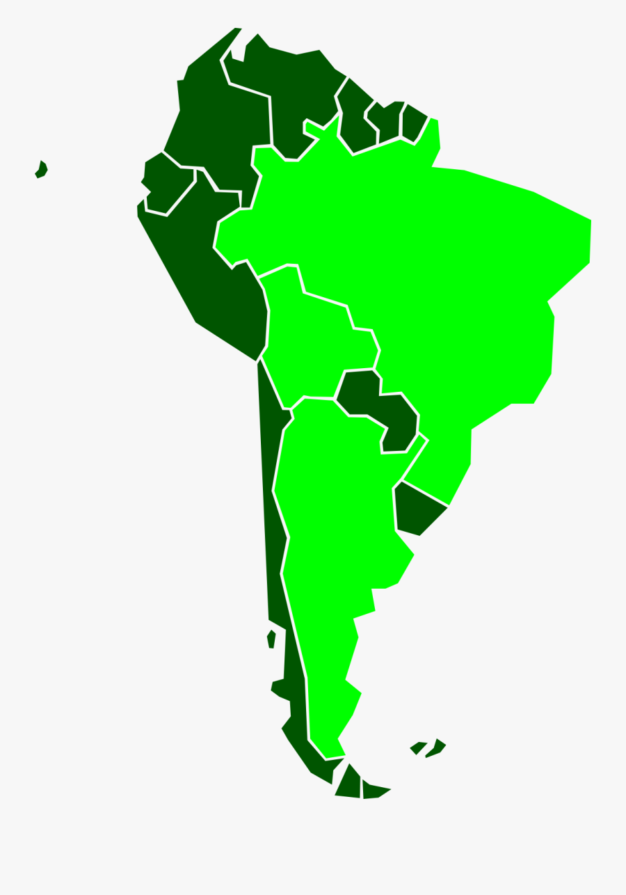 Latin America Ygn Clipart , Png Download - Eastern Coast Of South America, Transparent Clipart