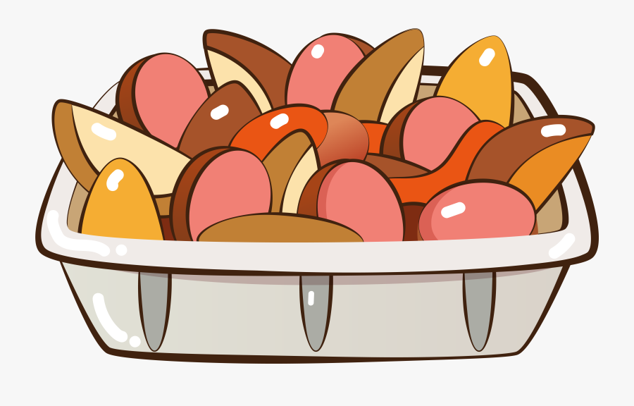 Food Hand Painted Cartoon Png And Vector Image , Transparent, Transparent Clipart
