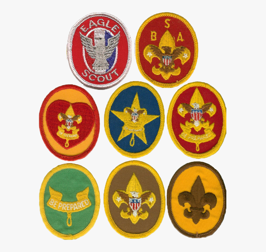 Old Eagle Scout Patches, Transparent Clipart