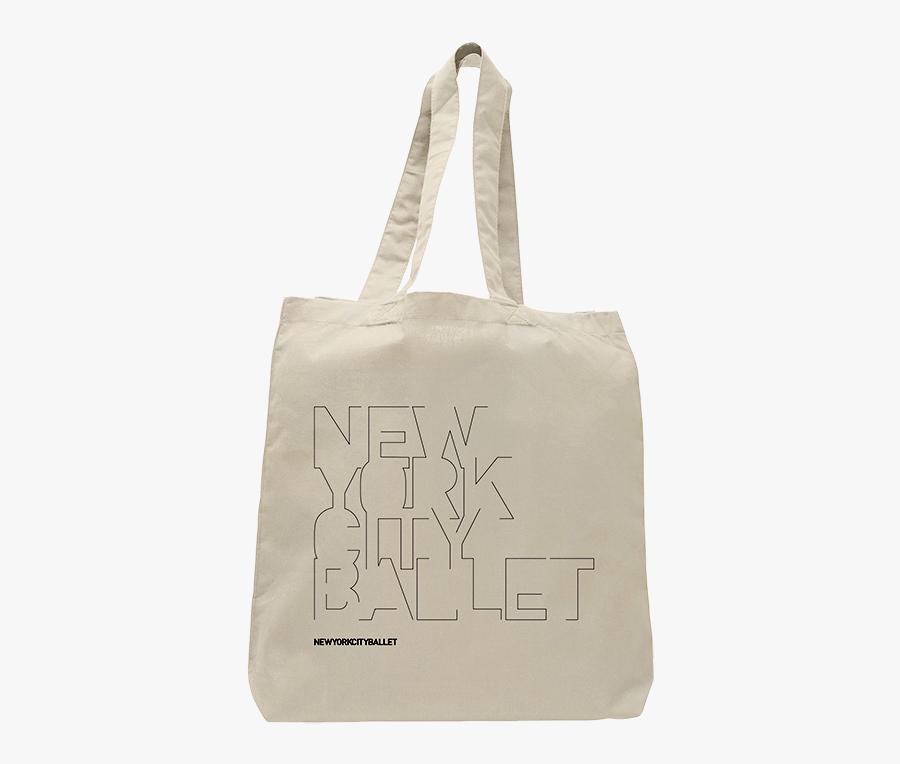 Transparent Totes Bag - New York City Ballet Bag, Transparent Clipart