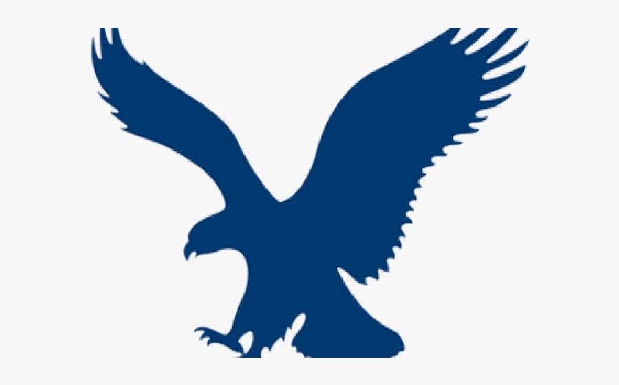 Golden Eagle Clipart Blue Gold - American Eagle Logo Transparent, Transparent Clipart