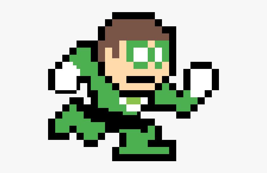 Mega Man Pixel Png, Transparent Clipart