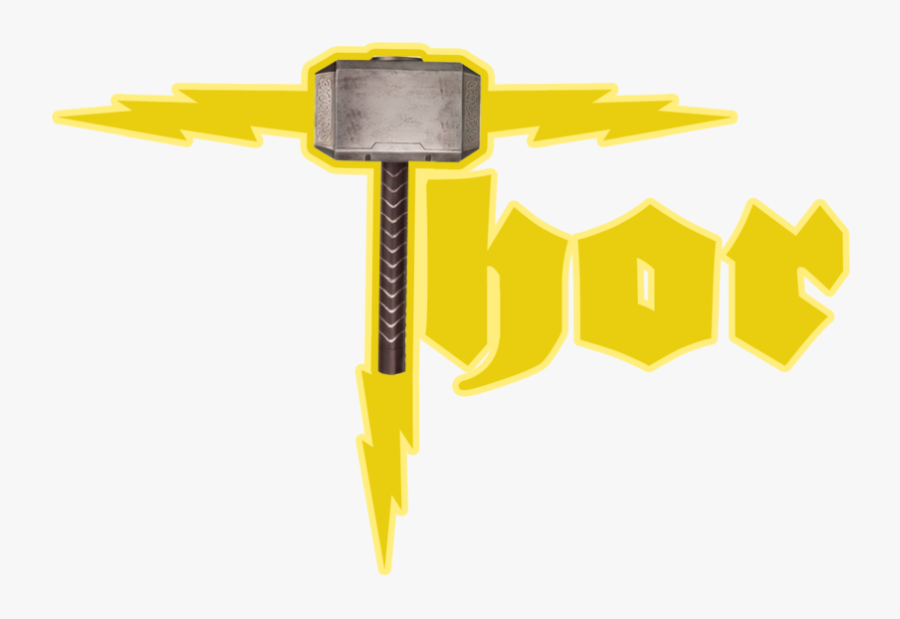 Thor Logo Clipart , Png Download - Mighty Thor Transparent Logo, Transparent Clipart