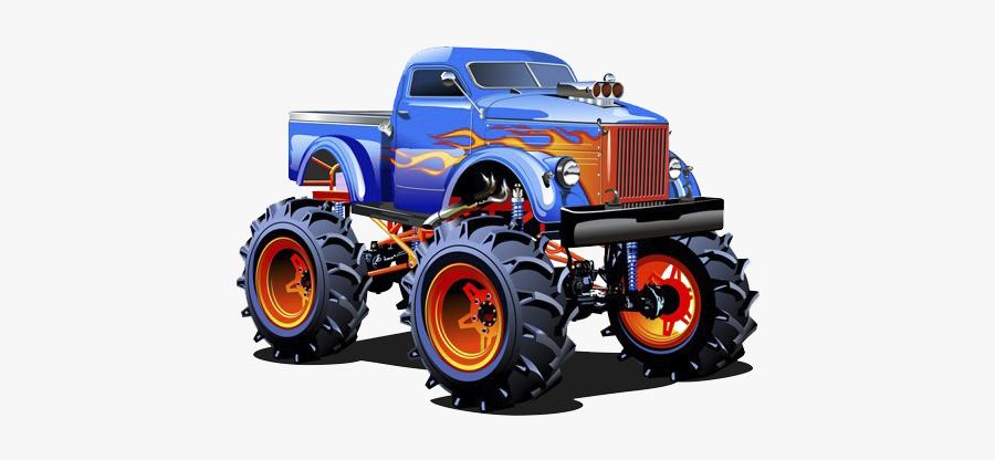 Pickup Truck Car Monster Truck Clip Art Monster Jam Trucks Cartoon Free Transparent Clipart Clipartkey