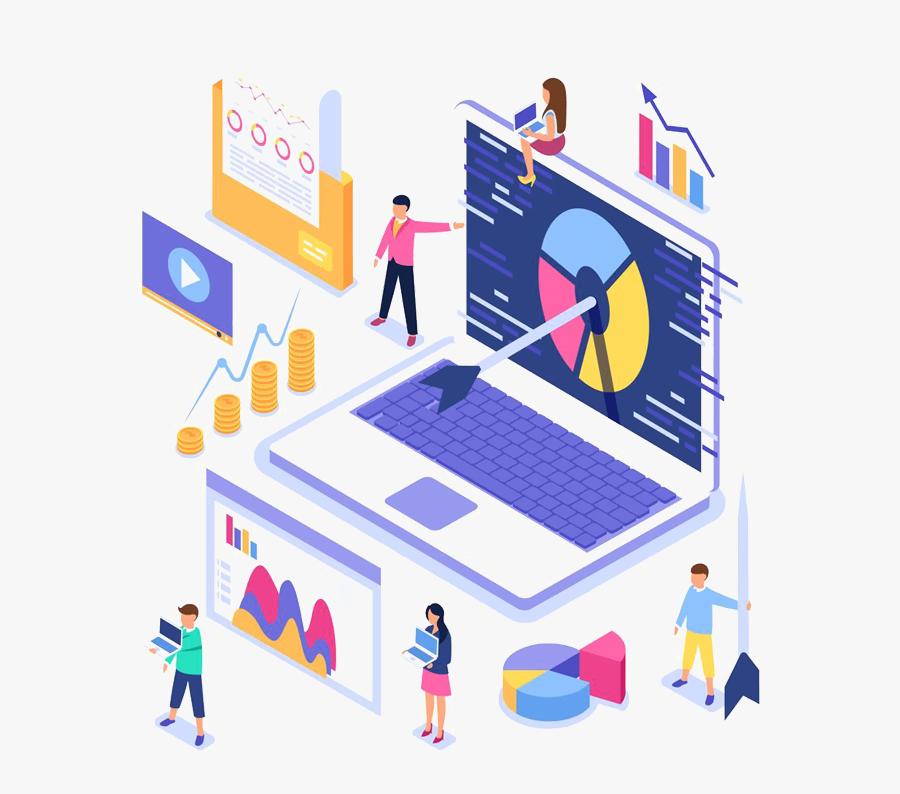 Digital Marketing Strategy, Transparent Clipart