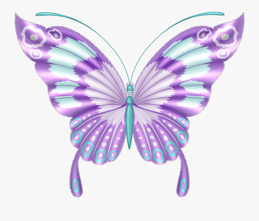 Butterfly Wings Clip Art, Transparent Clipart