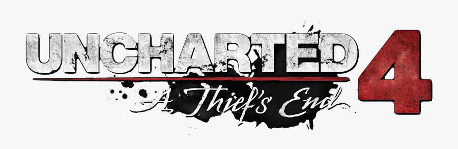Uncharted 4 A Thief's End Logo, Transparent Clipart