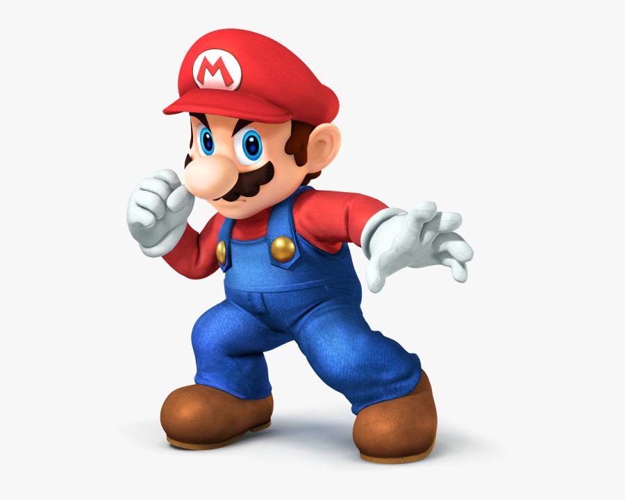 Super Smash Bros Mario, Transparent Clipart