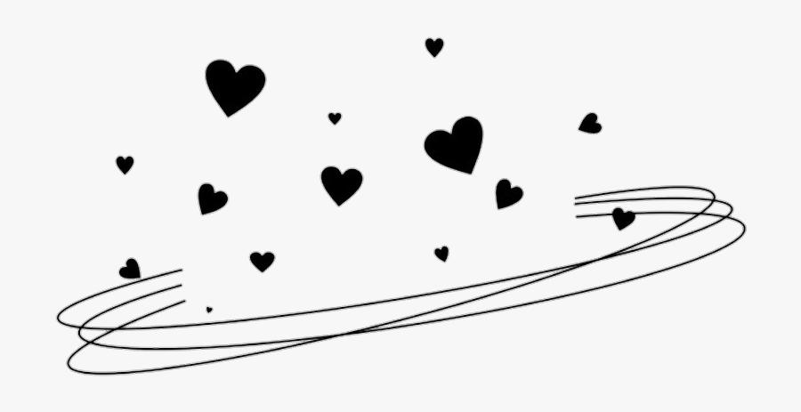 Clip Art Image Aesthetics Clip Art - Aesthetic Black Hearts Png, Transparent Clipart
