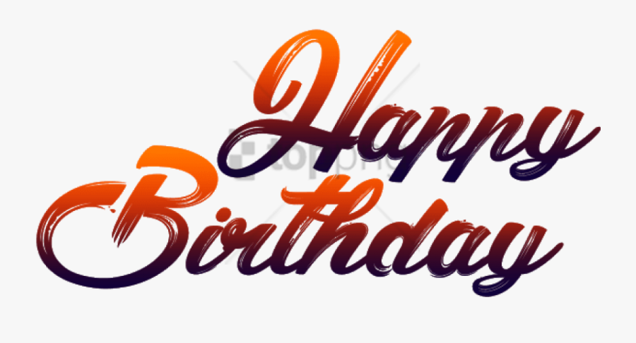 Free Png Happy Birthday For Picsart Png Image With - Picsart Happy Birthday Png, Transparent Clipart