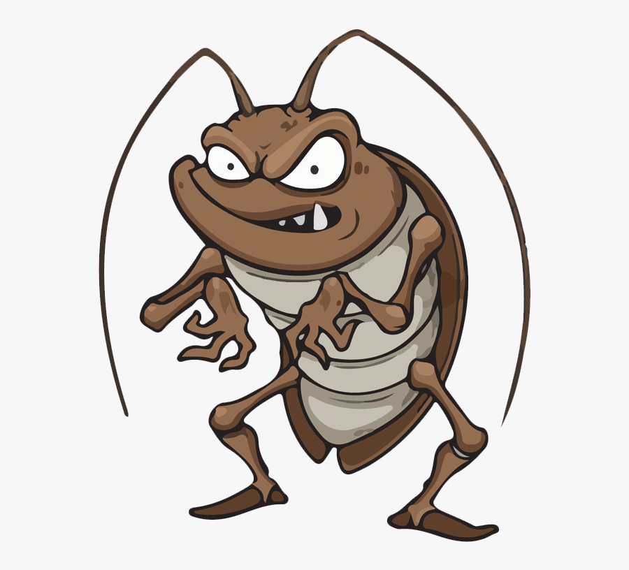 Call Us Today To Experience The Pest Off Difference - Cockroach Clipart, Transparent Clipart