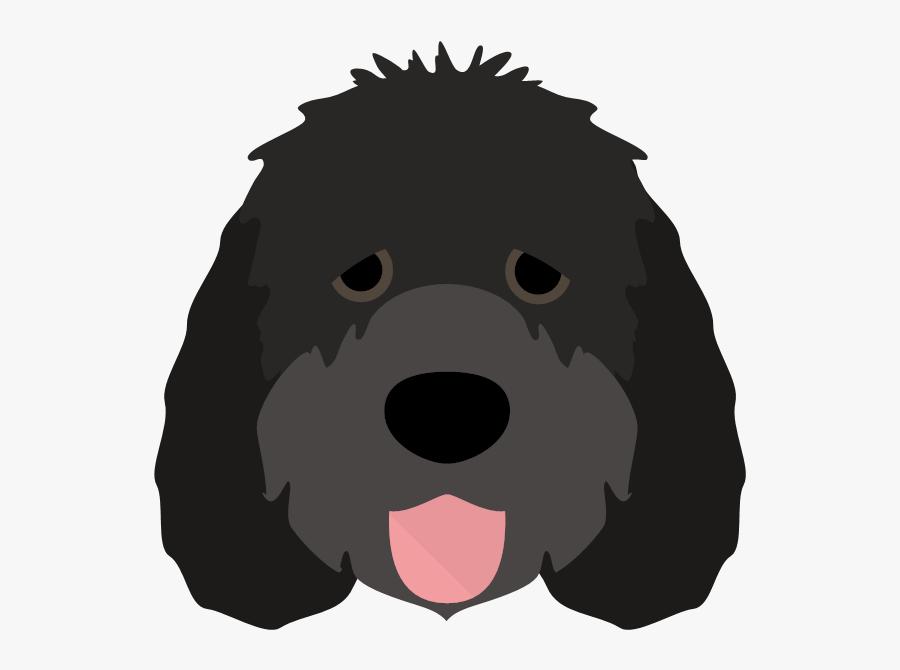 Yappicon - Dog Licks, Transparent Clipart